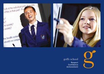 Prospectus - Goffs School