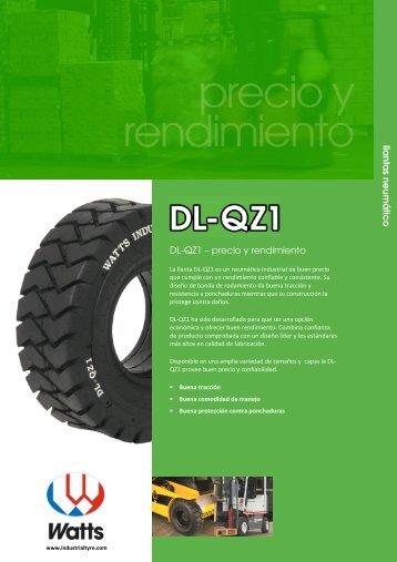 DL-QZ1 – precio y rendimiento lla n ta s n e u m á tic o