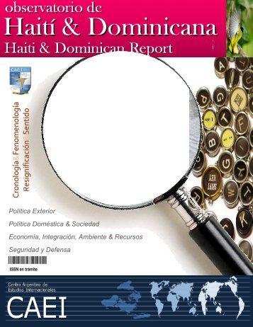 Observatorio de Haití & Rep. Dominicana - CAEI