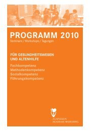 Programm 2010 - AGAPLESION gAG