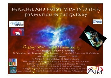 Herschel and HOBYS' view into star formation in the Galaxy - Graal