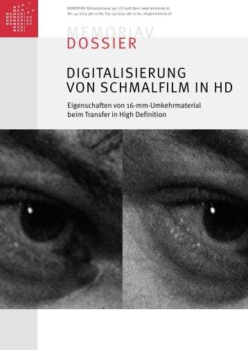 PDF-Version - Memoriav