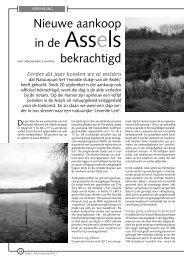 Nieuwe aankoop in de Assels bekrachtigd - Natuurpunt Gent