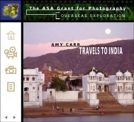 The ASA Grant for Photography