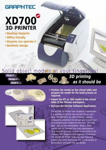 3D PRINTER - Graphtec