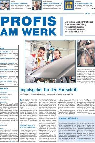 Impulsgeber für den Fortschritt - Süddeutsche Zeitung