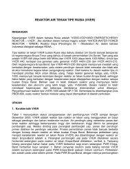 REAKTOR AIR TEKAN TIPE RUSIA (VVER) - Warintek