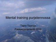 Mental training purjelennossa - Suomen Ilmailuliitto