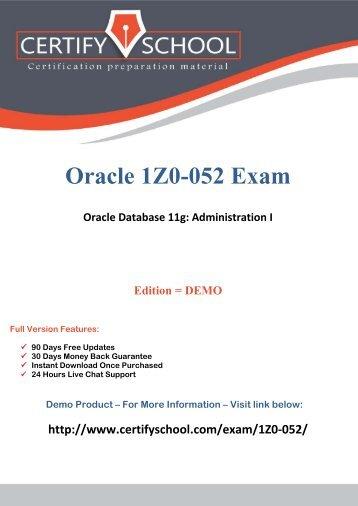 1Z0-052 Exam