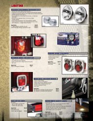 chrome sport taillights - Rampage Products