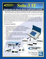 Duplicador de discos duros multi-tarea portátil