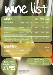 to view our Wine Menu - The Frog & Fiddler