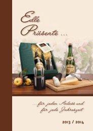 Präsente-Katalog 2013 - Dachdecker-Einkauf-Ost e.G.