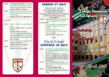 programa - Colegio Diocesano San Ignacio Ponferrada
