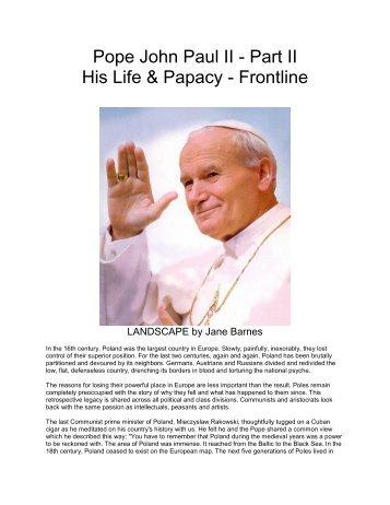 Pope John Paul II - The Mystical Side of God