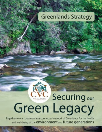 Greenlands Securement Strategy - Credit Valley Conservation