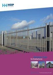 Robusto Gate Schiebetore - Hop Hekwerken