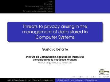 Download presentation of Gustavo Betarte