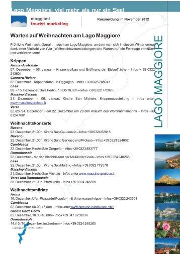 Warten auf Weihnachten im Dezember 2012 - Lago Maggiore