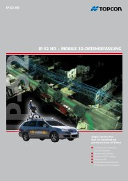 IP-S2 HD – MOBILE 3D-DATENERFASSUNG - Topcon Positioning