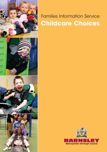 Choosing Childcare - Barnsley Council Online