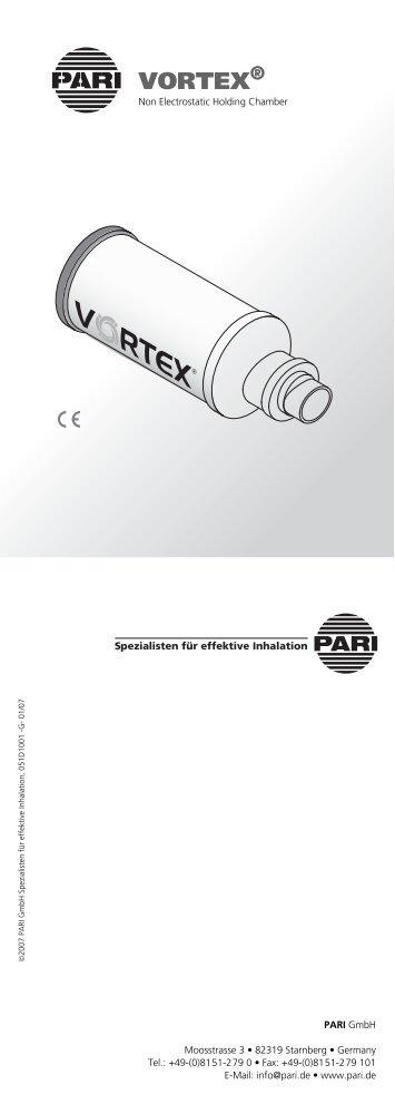 Pari Vortex - Gebrauchsanleitung (PDF Document size: 308 KB