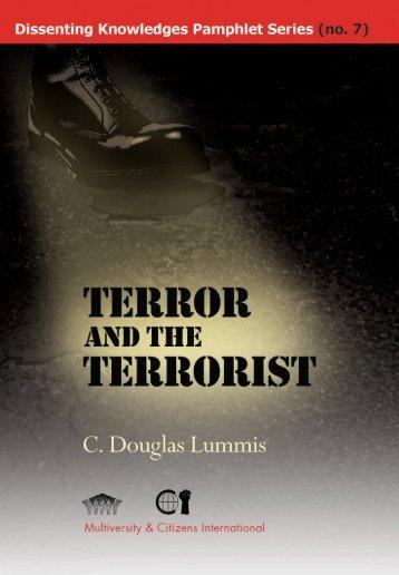 Terror and the Terrorist - Multiworld India