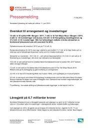 Pressemelding om vedtak i fylkestinget 11. juni 2013 (pdf-fil)
