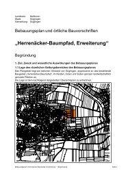 """""""Herrenäcker-Baumpfad, Erweiterung"""" - Koch + Käser"""