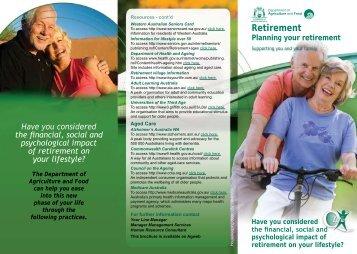 Retirement - Public Sector Commission