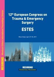 12th European Congress on Trauma & Emergency Surgery