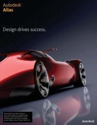 Autodesk Alias Family Detail Brochure - Ad-Tech Inc