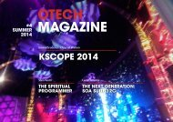 OTech Magazine - Summer 2014