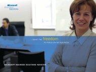 Navision Overview Brochure - Microsoft Dynamics-Navision ERP ...