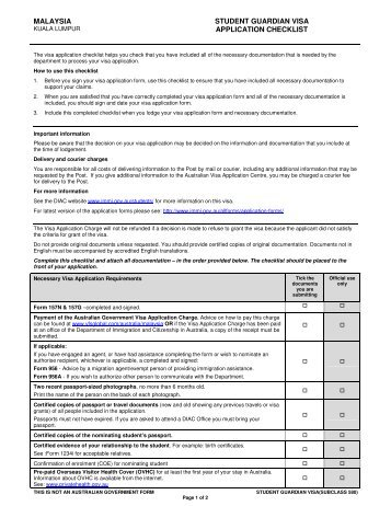 malaysia-student-guardian-visa-application-checklist-vfs-global Oci Application Form From Philippines on card sample, form minor signature, sample for minor part signature,