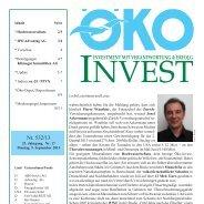 Download Auszug Öko Invest - Advantag AG