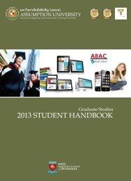 Student Handbook click here - Event Calendar - Assumption ...