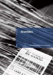 Brambles 2006 Annual Report - Alle jaarverslagen