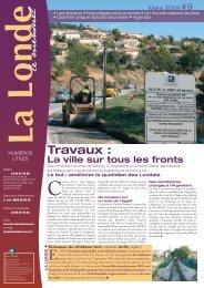 mensuel la londe mars 09 - Mairie de La Londe les Maures