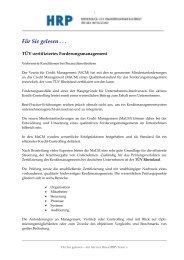 TÜV Zertifizierung   Creditmanagement - Heyd, Reims & Partner ...