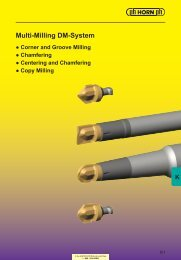 groove milling - Horn USA, Inc.