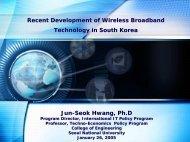 Recent Development of Wireless Broadband Technology in South ...