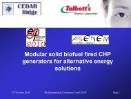 BG series biomass generators