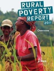 Rural Poverty Report 2011 - IFAD