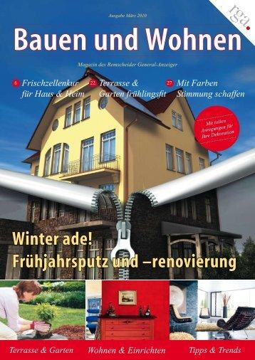 Bauen und Wohnen - Remscheid General-Anzeiger