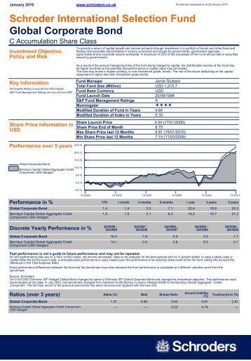 Schroder International Selection Fund Global ... - MetLife Alico