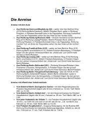 Wegbeschreibung (pdf - 50.8 KB)