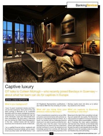 Captive Insurance Times - Guernsey Finance