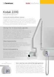 Kodak 2200 - up to dent