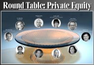 Round Table: Private Equity - Hassans